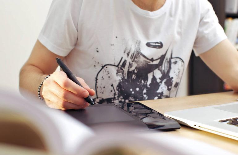 Web-Designer and Illustrator website Jerry Tomson